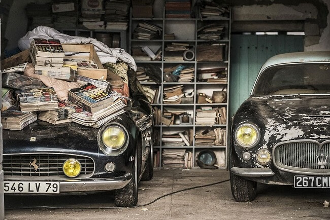 collections of classic cars